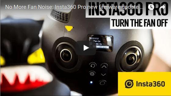 Insta360 Pro improves audio