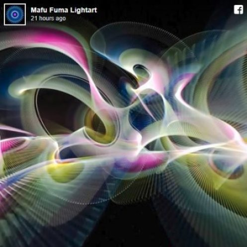 Exploring the synergy between light painting and 360 photography