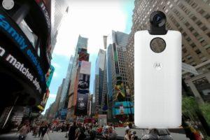 Moto 360 camera sample 4K 360 video