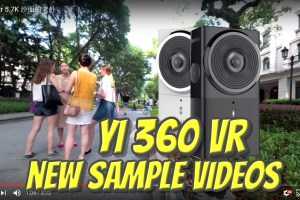 New sample videos from Yi 360 VR