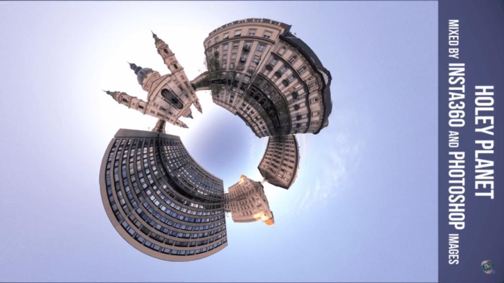 tiny planet vortex reflection ring tutorial