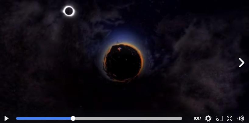 eclipse time lapse by Randy Alan Shaffer