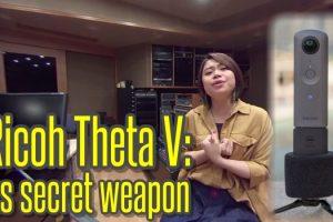 Ricoh Theta V's secret weapon is its spatial audio