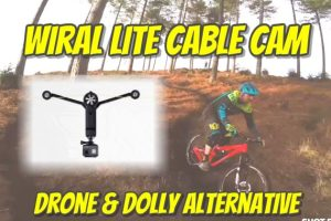 Wiral Lite Cable Cam drone and dolly alternative