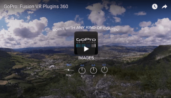 Download GoPro VR Reframe and other 360 video plugins for