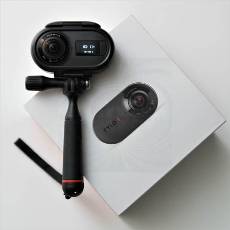 RYLO Camera is a 360 camera with stabilized 5.8K video