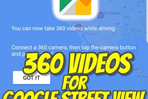 Google Street View 360 video