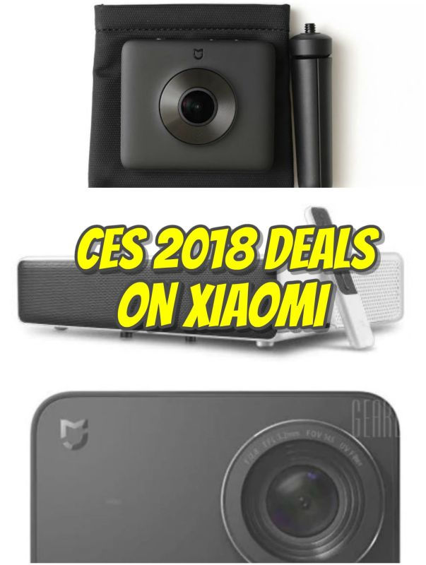 Xiaomi discounts for CES 2018