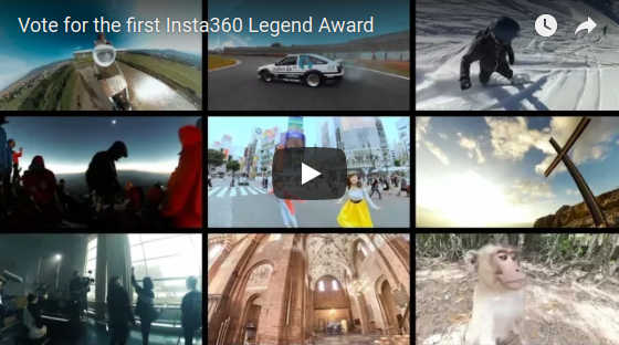 Insta360 Legend award
