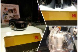 CES 2018: Kodak PIXPRO announces 8K cam and 3D cam.