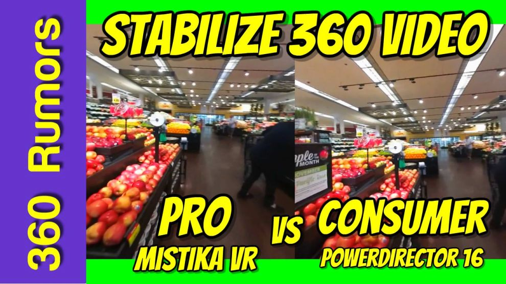 best 360 video stabilization software