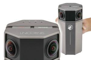 Unicornis 4K realtime stitching 360 camera