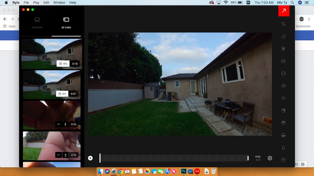 Rylo desktop app for MacOS
