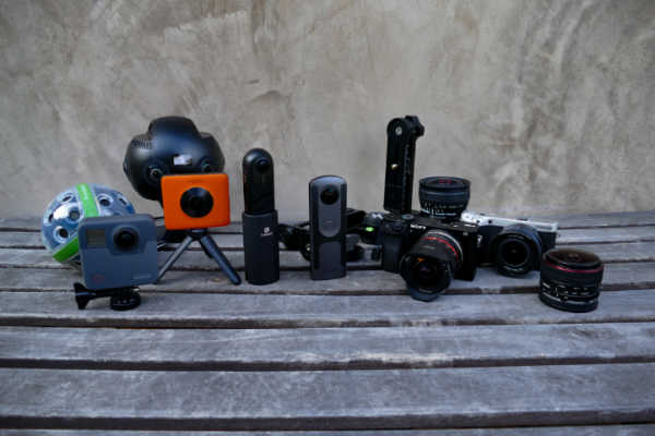 360 cameras vs. DSLRs (technically, interchangeable lens cameras)