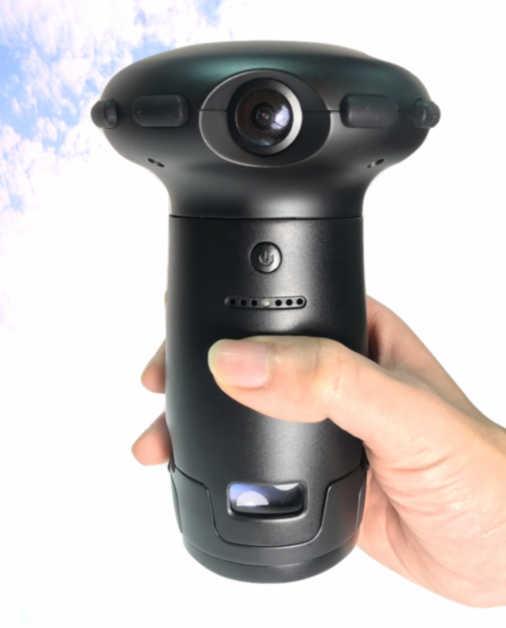 Ultracker Aleta S2 high resolution 12K 360 camera