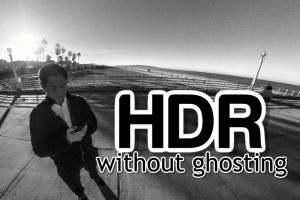 HDR 360 photos without ghosting