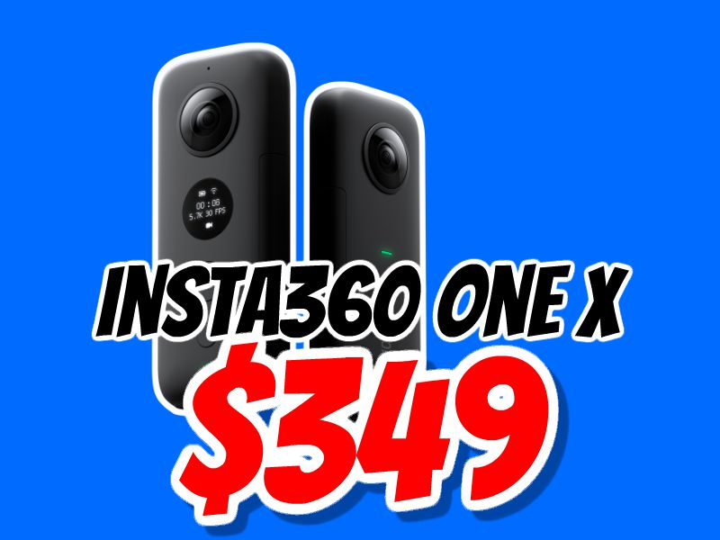 Insta360 One X discount Singles Day Sale (China's Black Friday) 2018