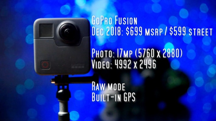 GoPro Fusion for virtual tours: excellent detail and dynamic range, but be aware of convoluted Raw workflow