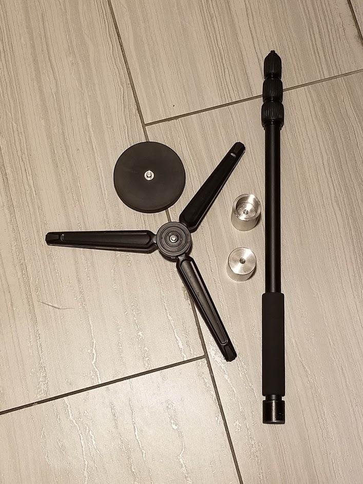 Bushman monopod for 360 cameras