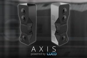 Axis depth-sensing VR180 camera by Lucid