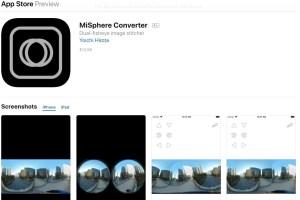 Mi Sphere Converter for iOS