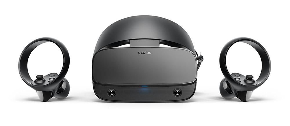 Oculus Rift S desktop VR headset with no external sensors