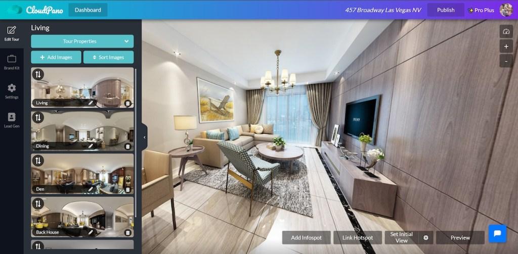 CloudPano lifetime access virtual tours