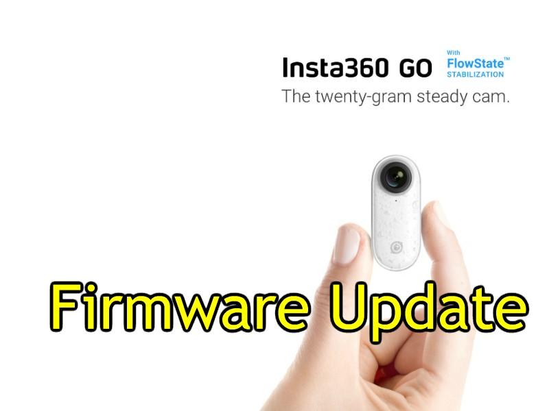 Insta360 GO firmware update