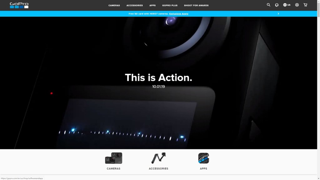 GoPro Max release date