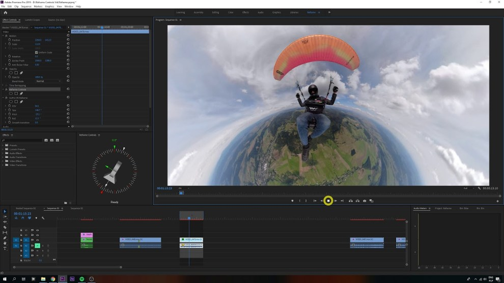 Make reframing 360 videos easier with Reframe Controls