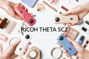 Ricoh Theta SC2 is an entry-level 4K 360 camera