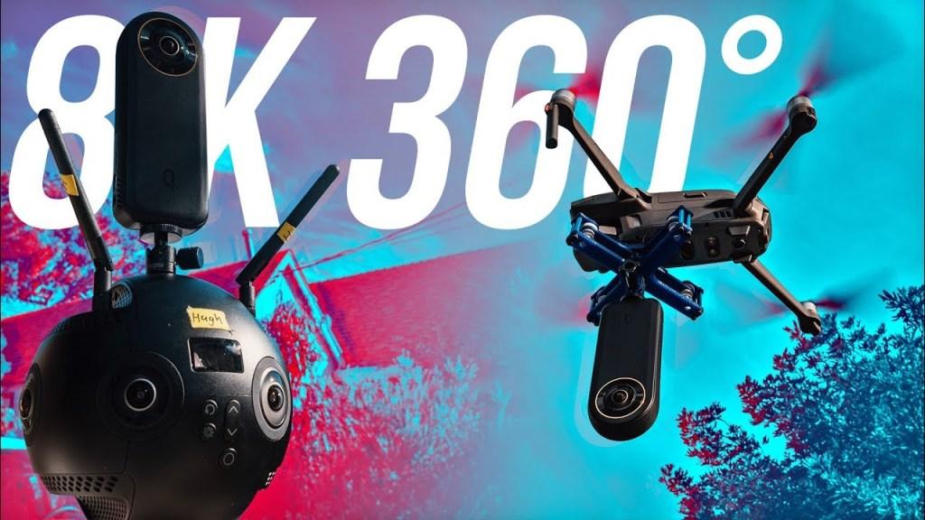 Qoocam 8K vs Insta360 Pro 2 and GoPro MAX
