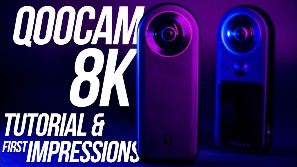 Kandao Qoocam 8K hands-on first look and tutorial