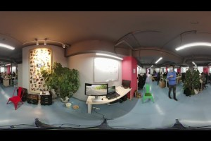 Sample 8K 360 live stream from Teche 360 Anywhere