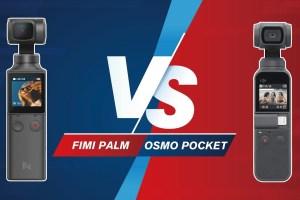 Osmo Pocket vs Fimi Palm