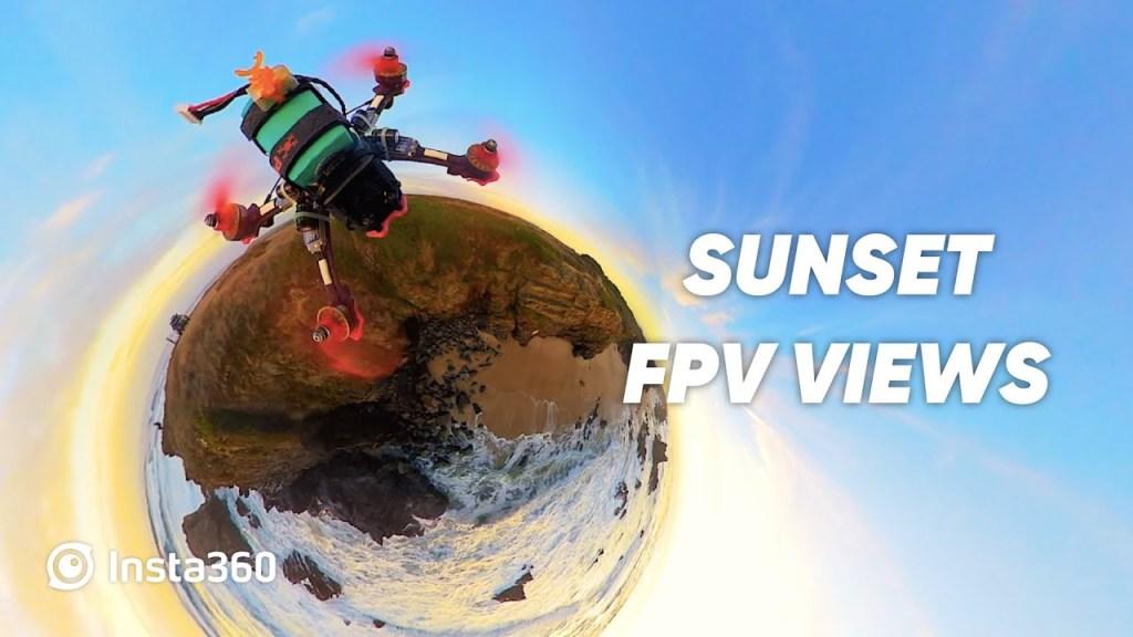 Cinematic FPV drone videos with Insta360 cameras