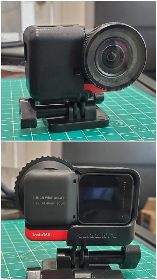 Insta360 One R quick swap frame