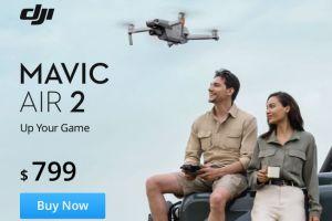 Mavic Air 2 takes HDR 360 photos