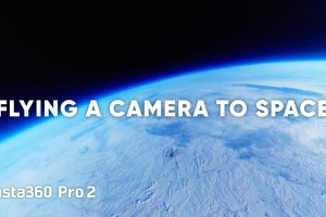 Insta360 Pro 2 in space