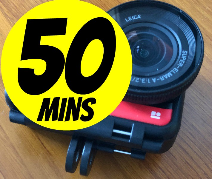 Insta360 One R 1-inch overheating solved