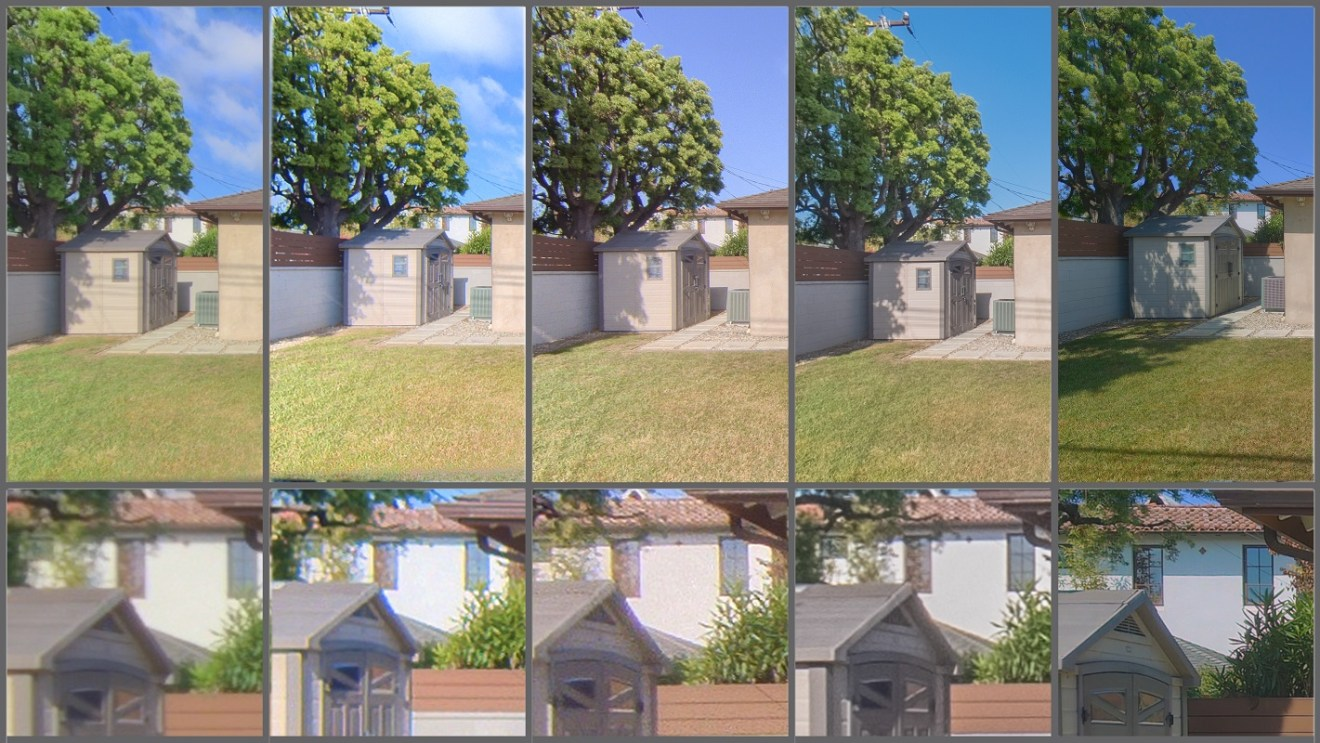 Virtual tour camera comparison