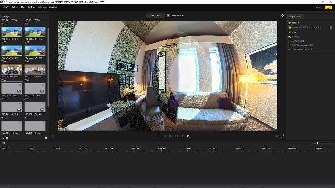 Insta360 Studio 2020 bug