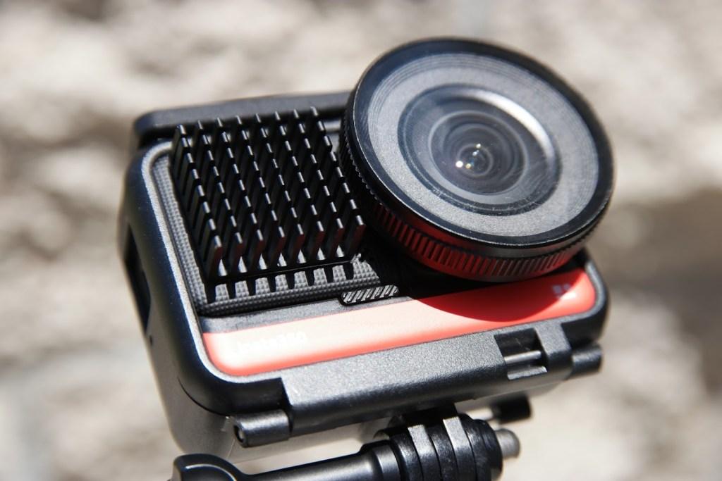 Insta360 One R 1-inch mod with heat sink