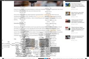 360 Rumors garbled / scrambled