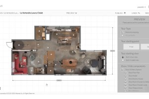 Metareal adds Floorplan bird's eye view to virtual tours