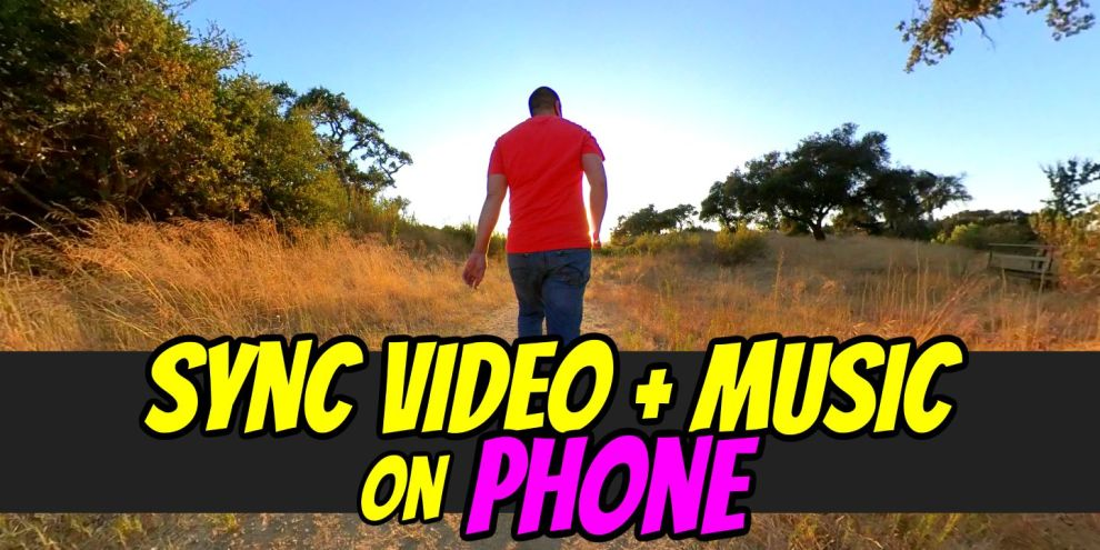 How to sync video with music with Insta360 One R Jump Cut