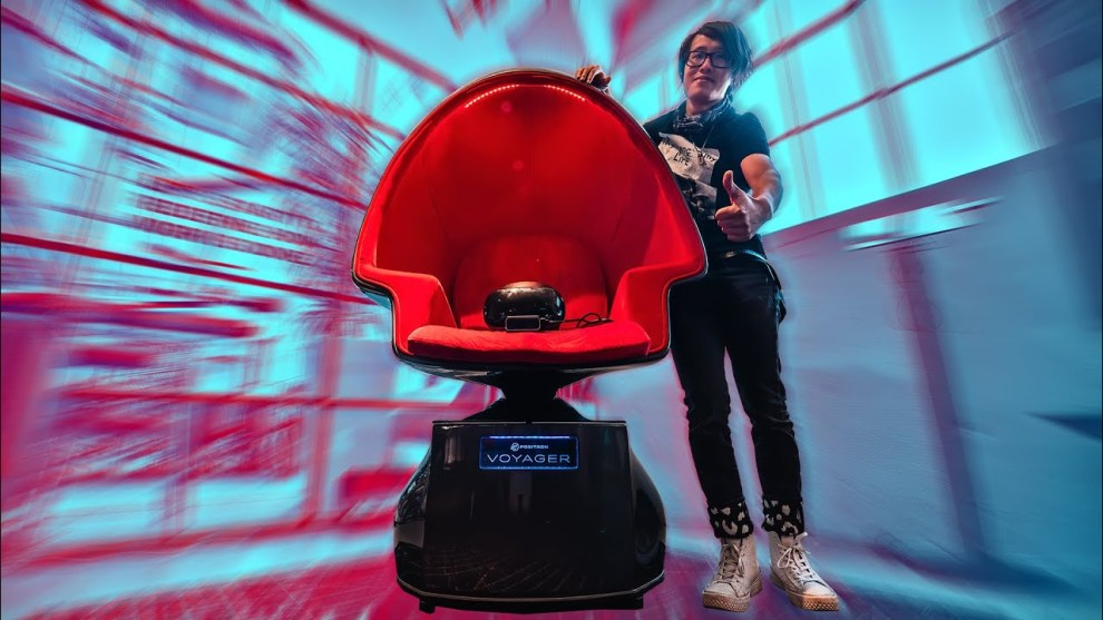 This chair can eliminate VR motion sickness
