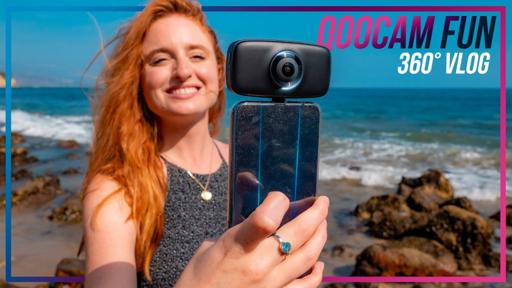 Qoocam Fun sample video vs Insta360 One R