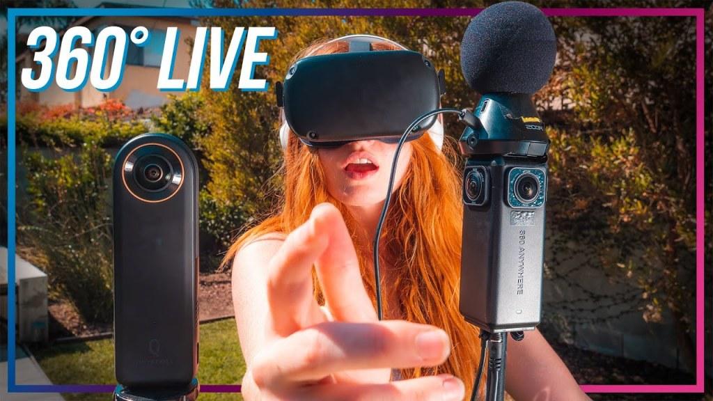 Qoocam 8K Enterprise vs 360anywhere for live streaming