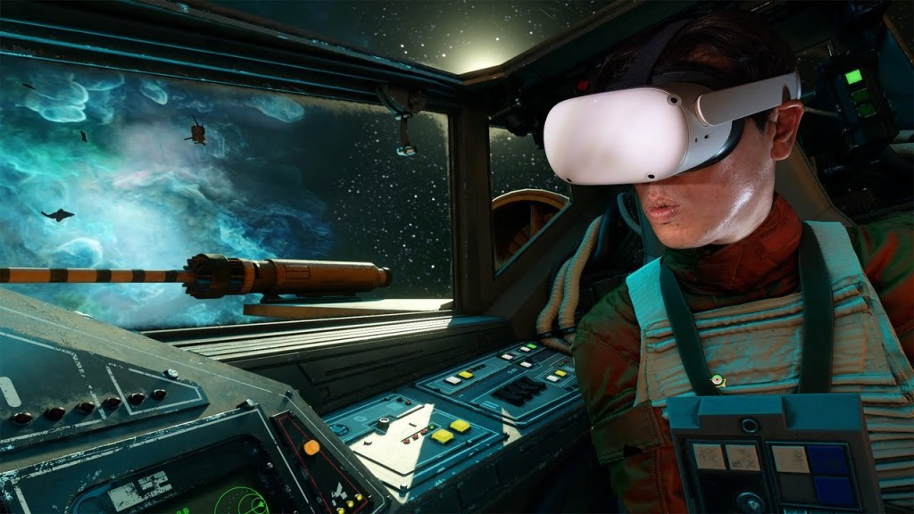 Fly X-Wing or TIE Fighter in VR with Star Wars: Squadrons